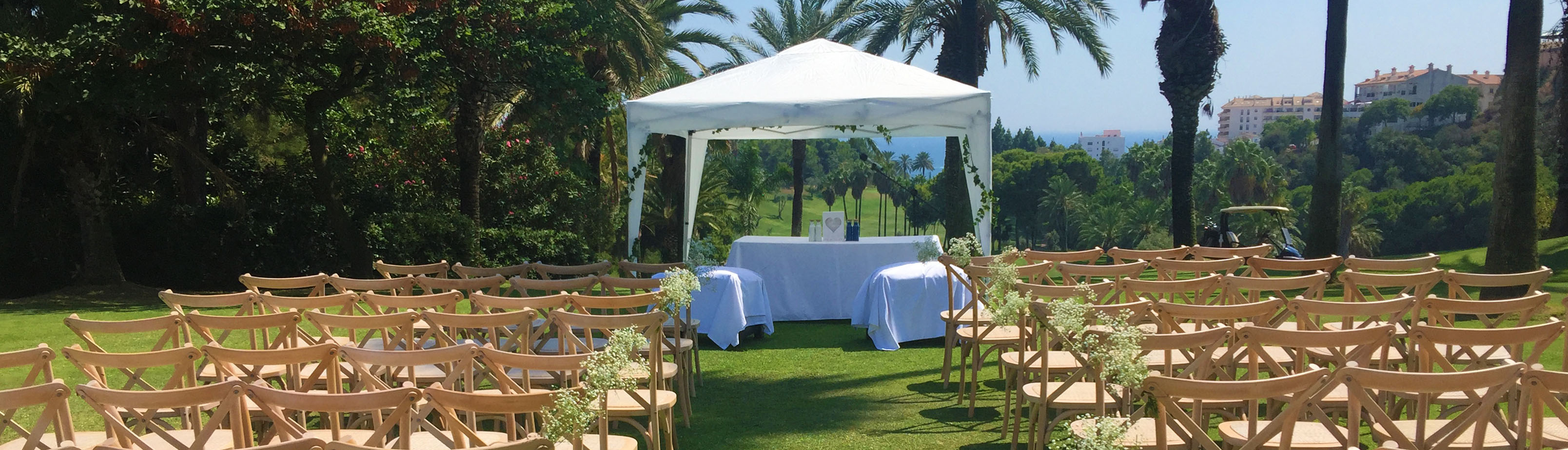 decoracion eventos torrequebrada golf